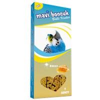 Mavi Boncuk Ballı Muhabbet Kuşu Krakeri 3'lü
