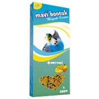 Mavi Boncuk Meyveli Muhabbet Kuşu Krakeri 3'lü kk