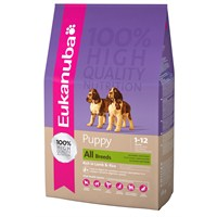 Eukanuba Puppy All Breeds Rich in Lamb & Rice 2,5 Kg Yavru Köpek Maması