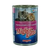 405 Gr x 24'lü Miglior Gatto Kuzu İşkembeli ve Havuçlu Kedi Konservesi