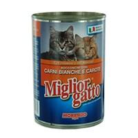 405 Gr x 24'lü Miglior Gatto Kümes Hayvanlı Ve Havuçlu Kedi Konserve Maması
