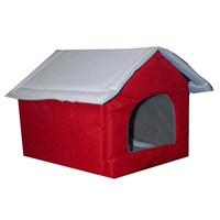 Freeandjoy Kedi Köpek Evi - Kırmızı