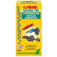 Sera Spirulina Tabs Balık Yemi 24 Tablet