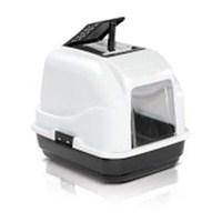 Imac Easy Cat - Tuvalet Kabı Filtreli Beyaz-Siyah - 840 91