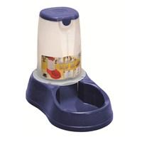 Stefanplast Köpek için Takviyeli Mama Kabı Mavi 3,5 Lt