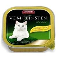 Animonda Vom Feinsten Kümes Hayvanlı Erişte Kedi Yaş Maması 100 gr * 6'lı