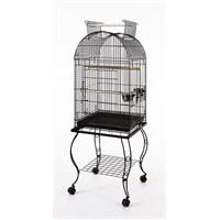 Sehpalı Papağan Kafesi Siyah