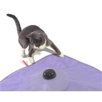 Kedi Oyuncağı Örtülü Dönen İp