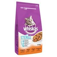 Whiskas Steril Tavuklu Yetişkin Kedi Maması 1,4 kg