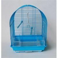 QH Oval Çatılı Kuş Kafesi Mavi