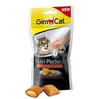 Gimcat Nutripockets Kedi Ödülü Somon Omega 3&6 60Gr