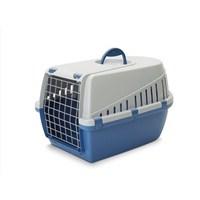 Savic Trotter 1 Kedi Köpek Taşıma Kabı Mavi/Açık Gri