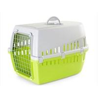 Savic Trotter 3 Kedi Köpek Taşıma Kabı Açık Gri/Limon Yeşili