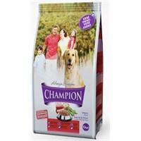Champion Kuzu Etli&Pirinçli Yetişkin Köpek Maması 10 Kg kk