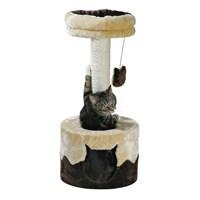 Trixie kedi oyun tırmalama evi 71 cm, bej/kahve