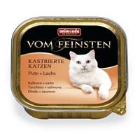 Animonda Vom Feınsten Neutered Hindi Etli Somon Balıklı Kedi Konservesi 100 gr kk