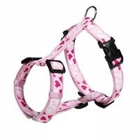 Trixie köpek göğüs tasma M-L,50-75cm/25mm,pembe