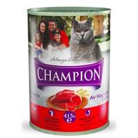 Champion Av Hayvanlı Yaş Kedi Maması 415 gr FD* gk