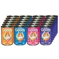 24 x 415 gr Goody Karışık Kedi Konservesi