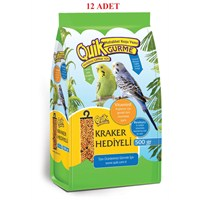 Quik Gurme Muhabbet Kuşu Yemi 500 Gr - 12'Li