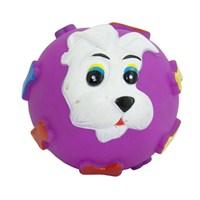 Yuvarlak Şekilli Isırılabilir Köpek Oyuncağı 032