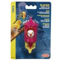 Living World Muhabbet Kuşu Kafası Plastik Oyuncak