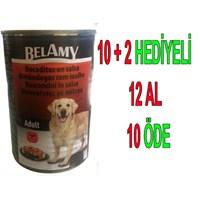 Belamy Biftekli Yetişkin Köpek Konservesi 1250 Gr 12'Li gk*