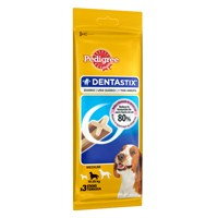 Pedigree Dentastix Medium 3pcs Köpek Ödül Maması 77 gr