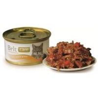Brit Care Tuna Balık Ve Havuçlu Kedi Konservesi 80Gr