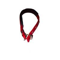 Pet Style Yumuşak Dokulu Kırmızı Köpek Boyun Tasması Küçük 25 Mm X 40 - 50 Cm