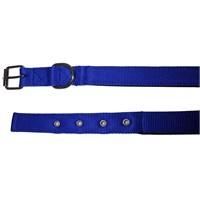 Pet Style Yumuşak Dokulu Mavi Köpek Boyun Tasması Küçük 25 Mm X 40 - 50 Cm