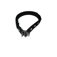 Pet Style Yumuşak Dokulu Siyah Köpek Boyun Tasması Küçük 25 Mm X 40 - 50 Cm