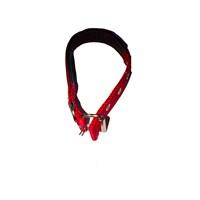 Pet Style Yumuşak Dokulu Kırmızı Köpek Boyun Tasması Orta 25 Mm X 43 - 52 Cm