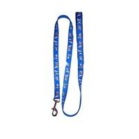 Pet Style Desenli Köpek Gezdirme Tasması Mavi 20 Mm X 120 Cm