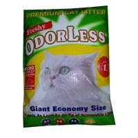 Freshy Odorless Cat Litter Regular Kristal Kalın Kedi Kumu 6 Kg