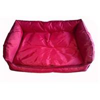 Pet Style Dış Mekan Bahçe Köpek Yatağı Kırmızı No:1 50 X 40 X 10 Cm