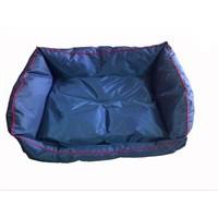 Pet Style Dış Mekan Bahçe Köpek Yatağı Lacivert No:3 90 X 70 X 10 Cm