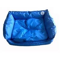 Pet Style Dış Mekan Bahçe Köpek Yatağı Mavi No:4 105 X 75 X 10 Cm