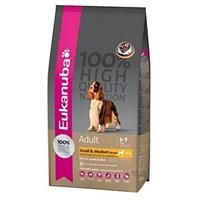 Eukanuba Dog Adult Small & Medium Lamb & Rice Küçük Ve Orta Irk Kuzulu Kuru Köpek Maması 12 Kg