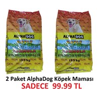 Alphadog The Love Meat&Rice Köpek Maması 13.5Kg 2 Paket Sadece 99.99Tl