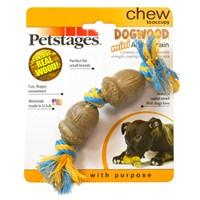 Petstages Mini Dogwood Acorn Chain Köpek Oyuncağı