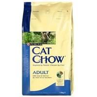Cat Chow Yetişkin Somonlu Kuru Kedi Maması 1,5Kg