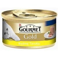 Purina Gourmet Gold Kıyılmış Tavuklu Yetişkin Kedi Konservesi 85Gr