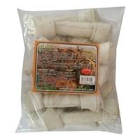 Lion Beyaz Düğümlü Yenilebilir Kemik 70 Gr 10 Adet 18 Cm
