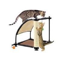 Sport Pet Designs Kitty Citty Climbing Hill Oyuncaklı Kedi Tırmalama Tahtası 45 Cm X 45 Cm X 44 Cm