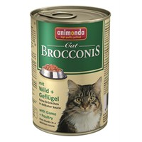 Animonda Brocconıs Av Hayvanlı Ve Kümes Hayvanlı Yetişkin Kedi Konservesi 400Gr