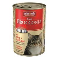 Animonda Brocconıs Sığır Etli Ve Kümes Hayvanlı Yetişkin Kedi Konservesi 400Gr