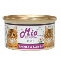 Mio İşkembe Ve Kuzulu Yetişkin Kedi Konservesi 85Gr