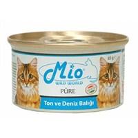 Mio Ton Ve Deniz Balıklı Yetişkin Kedi Konservesi 85Gr