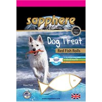 Sapphere Red Fish Rolls Doğal Kurutulmuş Kırlangıç Balıklı Köpek Ödülü 75Gr